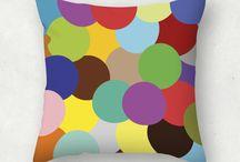 Cojines, lienzos y vinilos / Diseños de cojines, lienzos o vinilos para decorar tu casa.