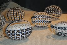 Beautiful Easter Eggs / Easter Egg Art , different designs and techniques that create beautiful Easter Eggs