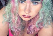 Mermaid hair <3 / Photos of beautifully dyed hair
