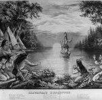 """People: Hiawatha  / Images of Hiawatha found throughout the internet - His influence is expressed in many places - During the 1800's, especially during the time of Longfellow you'll see the name spelled """"Hiawatha"""". It was during those times that particular spelling became popularized.  The Haudenosaunee people have other ways to spell the name, such as Hayehwatha, Ayenwatha, Aiionwatha, or Haiëñ'wa'tha. See this website for The Return of Hayehwatha - http://hayehwatha.com"""