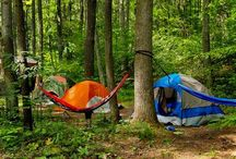 "Tent Camping / Whether you like to truly ""rough it"" or enjoy a few luxuries, we have what you are looking for at Greenbrier Campground."