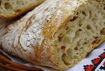 chleby, rohlíky, pečivo