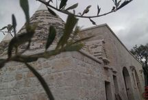 Work in progress / Fase di costruzione di un nuovo B&B e casa vacanze in Puglia