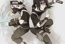 Kakashi and Itachi ❤