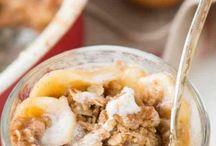 Baking-Fruit Crisps, Mousse