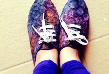 Galaxy shoes diy / Inspired by tumblr