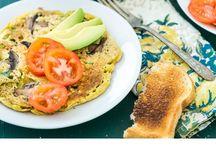 vegan omelets