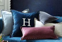 Cushions and fabrics