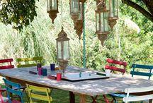 lanterns in d garden