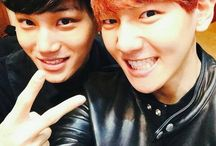 exo baekhyun and another