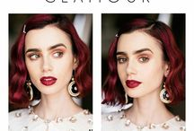 • lily collins • always & forever