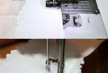 sewing techniques/технологии
