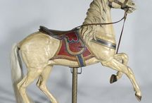 Carousel Horse - White / pin as many as you like / by Judy Reynolds