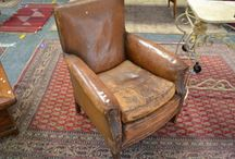 Club chair / Leather club chair