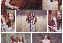 Girls with horses ❤️