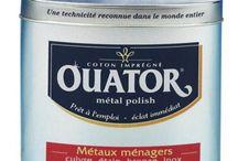 Entretien argenterie, métaux / Pour tout nettoyer dans la maison: http://www.droguerie-jary.com/fr/entretien-maison/entretien-argenterie-metaux/