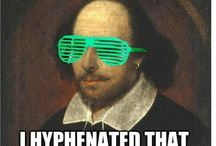 """Shakespearean Memes / An """"Internet meme"""" is a concept that spreads rapidly from person to person via the Internet, usually in a humorous way and through the repetition of familiar phrases (often from pop culture) alongside idiosyncratic or manipulated images of a topical character whether from pop culture, historical or literary culture, or other celebrity culture. Shakespeare and his works are often the focus of meme culture."""