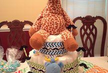 Diaper cake inspiration / by Krystle Ann