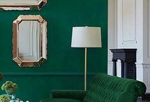 green gold black