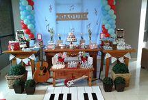 Festa instrumentos musicais