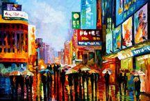 Palette k I've paintings