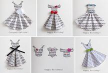 Card Tips - Dresses