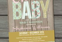 Showers of Baby Blessings / by Erika Noe