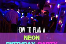 Neon Party / Neon lights / by Patty Fields