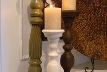 candle holder spindles