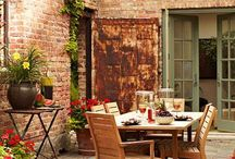 Garden courtyards