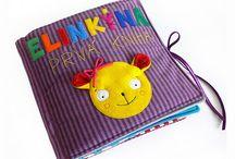 textilná knižka