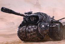 conceptual tanks
