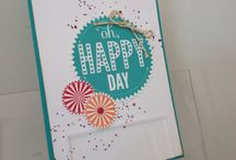 Stampin' Up! My designs