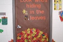 Classroom decorations - Fall