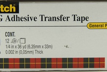 ☑ adhesives - TAPE or sheets / by ConnSue