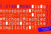 Typographie - Fontes