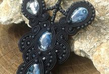 Soutache jewellery- Necklaces / Benedikti Brigitta Hungarian soutache jewellery- Necklaces Sujtás ékszerek Gyöngyhímzett ékszerek