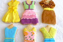 Dress cookies