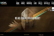 Web design inspiration / Selection of the best web designs. Great for inspiration, nice to be up to date with new trends.