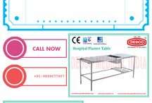 Hospital Plaster Table / Plaster Tables are important for treatment of orthopedic patients. We manufacture best quality tables for orthopedic treatments.
