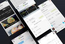 UI designs mobile