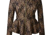Fashion / Peplum Jacket
