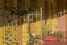 Casa amarela / Em meio à natureza deslumbrante, uma casa amarela.