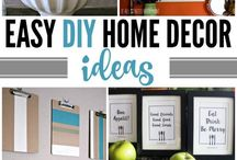 HOME: Let's Decorate! / Grab a few ideas on how to add personal style and charm to your home. Make every room your favorite.  Find DIY ideas for creating decor items. If you can decorate with it, you'll find it here.