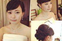 結婚式 WD髪型