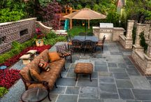 Backyard Inspiration / Not sure what to do with your backyard? Here's some inspiration!
