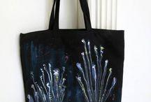 Relieve Oceánico / Black Tote Bag