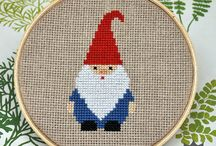 Mood board re:gnomes re:I've had a phew wines / there's no place like gnome