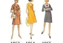 40's, 50's, 60s' & 70's Fashion History / Old stuff, Vintage...