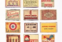 matchboxes and other labels